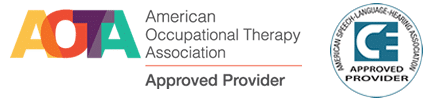 AOTA Approved Provider - ASHA Approved Provider