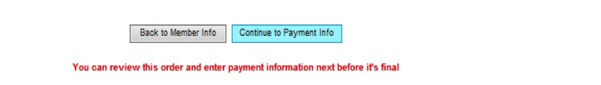 continue to payment