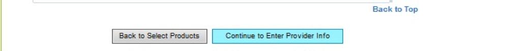 enter provider