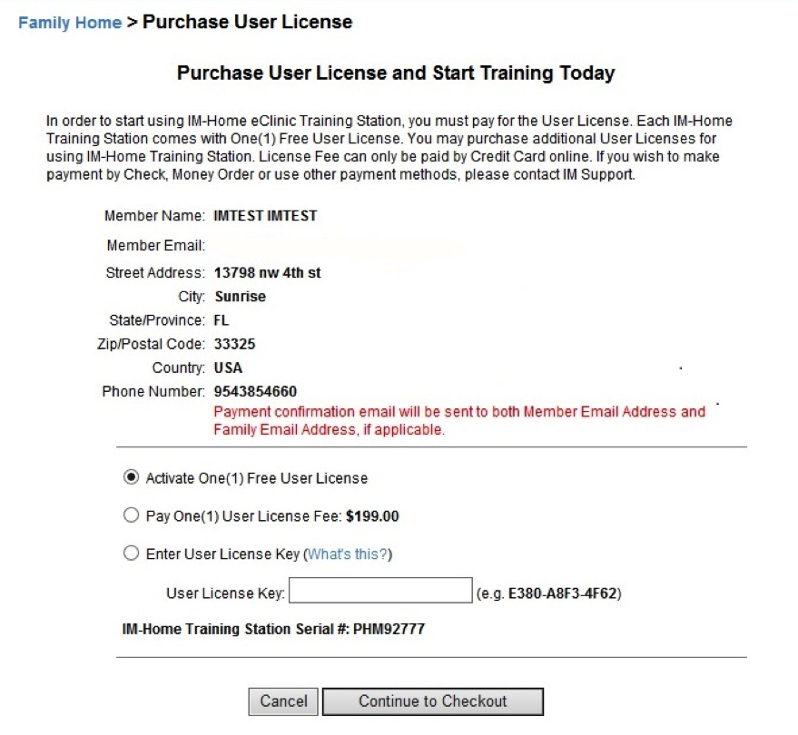 purchase user license