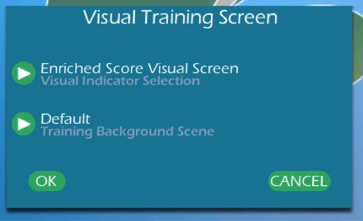visual train screen
